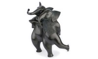 Schaatsende olifanten