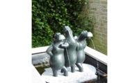 Drie Gratiën, fonteinbeeld