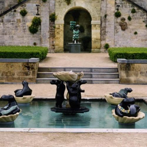 vijver Chateau Neercanne